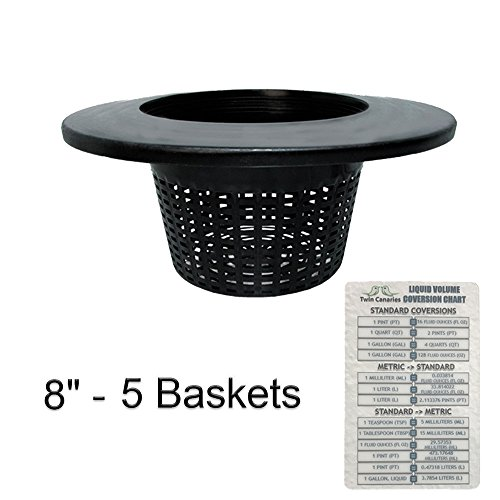 8-wide-lip-bucket-basket-lid-round-plant-container-with-mesh-bottom-twin-canaries-chart-5-baskets