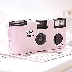 Pink Single Use Camera – Solid Color Design