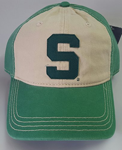 NCAA New Michigan State Spartans Embroidered Adjustable Cap by NCAA
