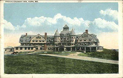 Passaconaway Inn York, Maine ME Original Vintage Postcard 1922