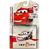 Disney Infinity Crystal Lightning McQueen Figure and Web Code Card - Toys R Us Exclusive!