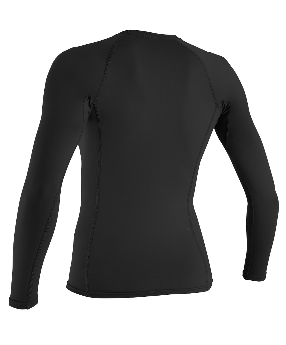 Galleon o 39 neill wetsuits uv sun protection womens basic for Uv long sleeve shirt womens