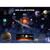 Our Solar System (Planetary Information) Art Poster Print - 24x36