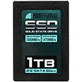 """Inland Professional 1TB SSD 3D NAND SATA III 6Gb/s 2.5"""" 7mm Internal Solid State Drive (1T)"""