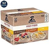Quaker Quaker Instant Oatmeal, High Fiber Variety Pack, 32Count