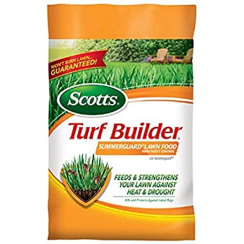 Scotts Turf Builder Lawn Food - Summerguard With Insect Control, 5,000-sq Ft. (13.35lb.) (Lawn Fertilizer Plus Insect Control) 0