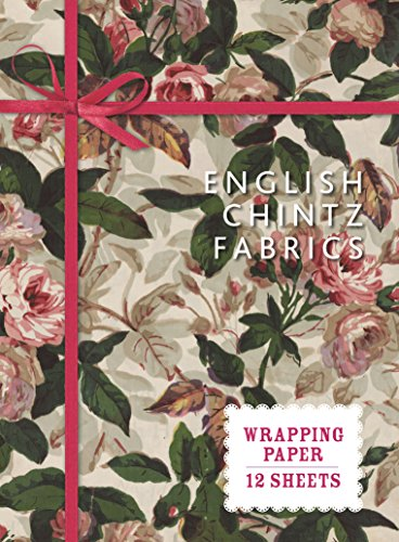 - English Chintz Fabrics: Wrapping Paper: 12 Sheets (Wrapping Paper Books)