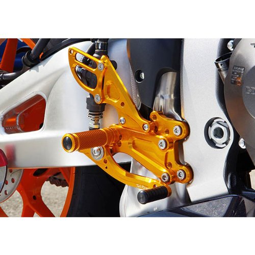 Heel Right Guard Side (Sato Racing Billet Aluminum Right Side Heel Guard Anodized Gold for Honda 2013 CBR600RR (HG-CBR6-GD))