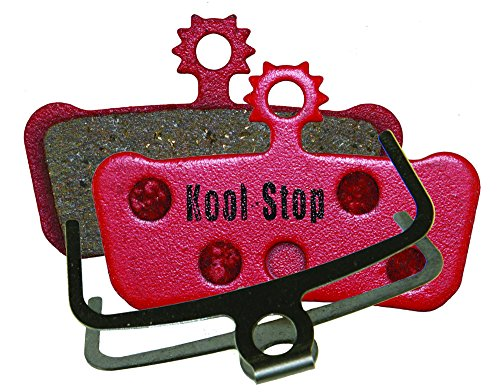 Kool Stop Avid SRam X0 Trail Disc Brake Pads (Organic Compound, Steel Backing) by Kool Stop