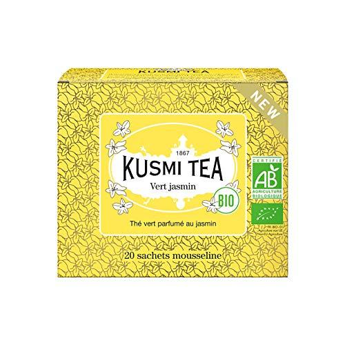 Kusmi Tea - Te verde de jazmin orgànico - Caja de 20 bolsitas