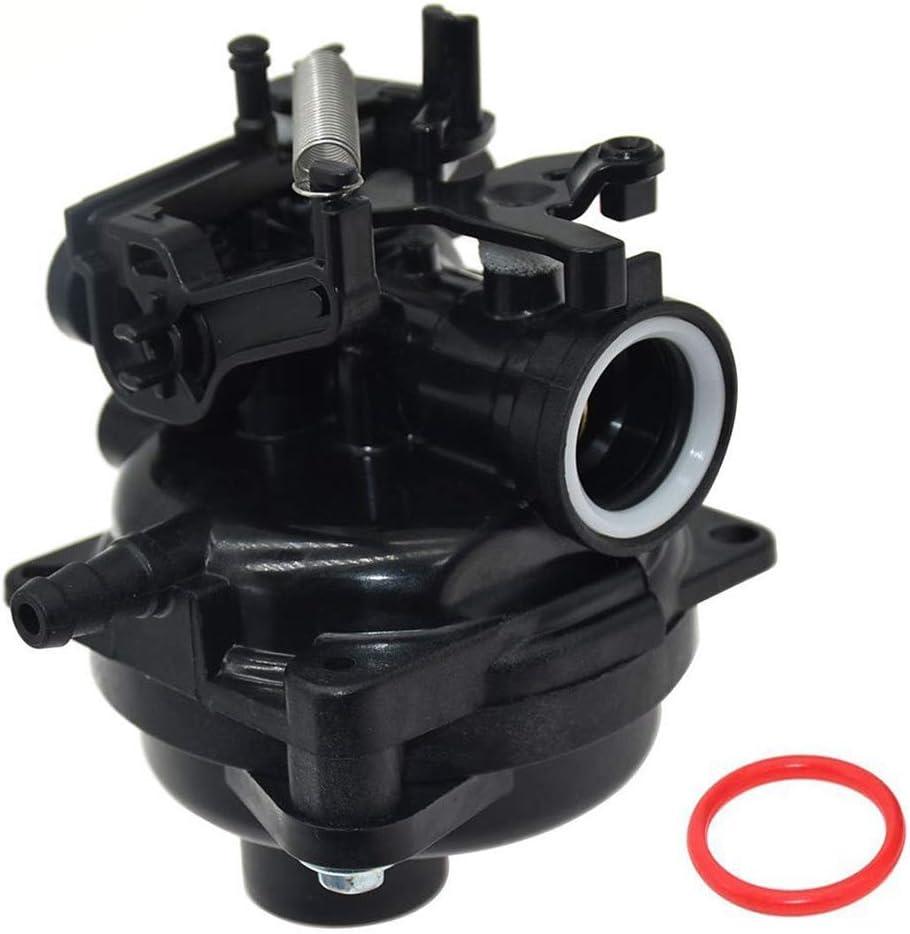Basage 799584 Carburateur pour Moteurs Briggs et Stratton 09P702-0145-F1 09P702-0098-F1 550E 625E 675E 725Exi 140Cc