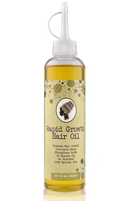 runakoh rápido crecimiento pelo oil-8oz (236 ml). Mezcla de aceites orgánicos