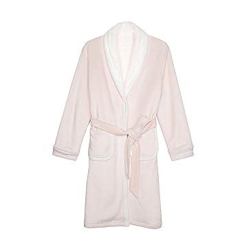 Albornoces Ropa interior de señora Winter Sleep Robe Thickening Plus Sección larga caliente Inicio Ropa GAODUZI