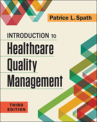 introduction to healthcare quality management 3rd buyer's guide