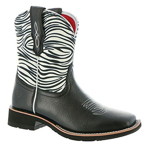 Ariat Kvinna Rosie Western Cowboy Boot, Rostat Brunt, 11b Oss Svart