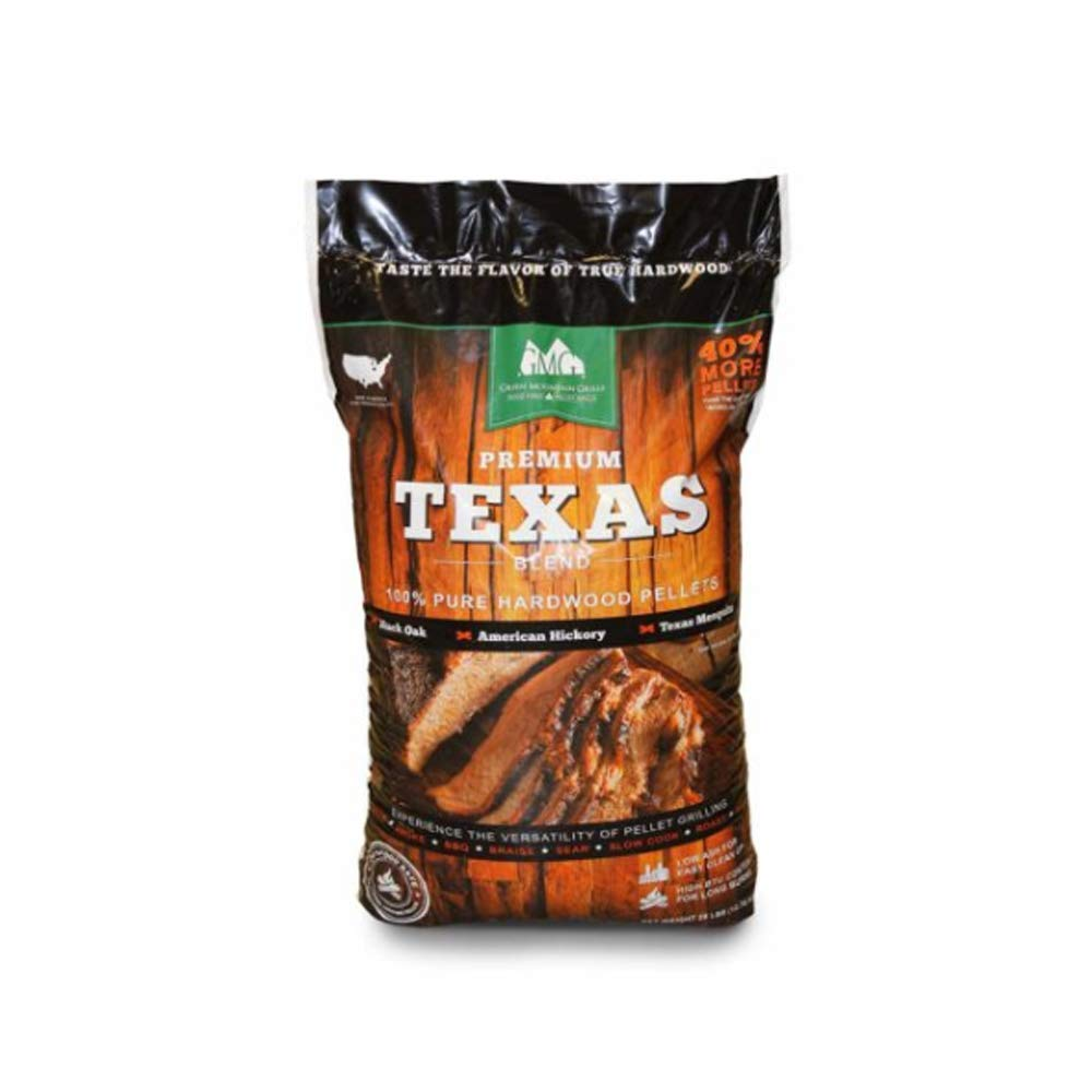 Green Mountain Grill Gmg-2004 Premium Texas Blend Pellets 28 Lb Bag by Green Mountain Grills