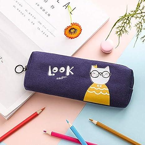 Amazon.com : Pencil case - Cat Pencil case School Supplies ...