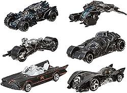 Hot Wheels 2015 Batman, Bundle Set Of 6 Exclusive Die-cast Vehicles