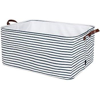 bb98164d9fa8 Amazon.com: DII Polyester Foldable Square Laundry Organizing Cube ...