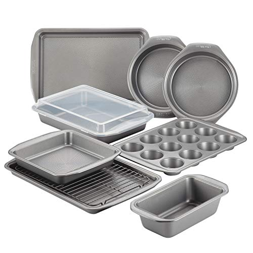 Circulon 47485 Steel Bakeware Set 10pc Baking Pan Set Gray Deal (Large Image)
