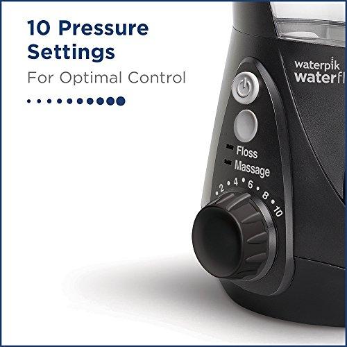 Waterpik Water Flosser Electric Dental Countertop Oral Irrigator For Teeth - Aquarius Professional, WP-662 Black