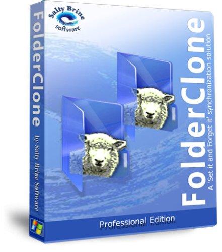 FolderClone Professional Synchronization Replication Mirroring