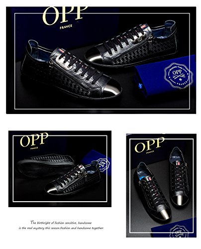 OPP Mens Classic Casual Shoes Breathable Flat Fashion Sneaker Lace Up
