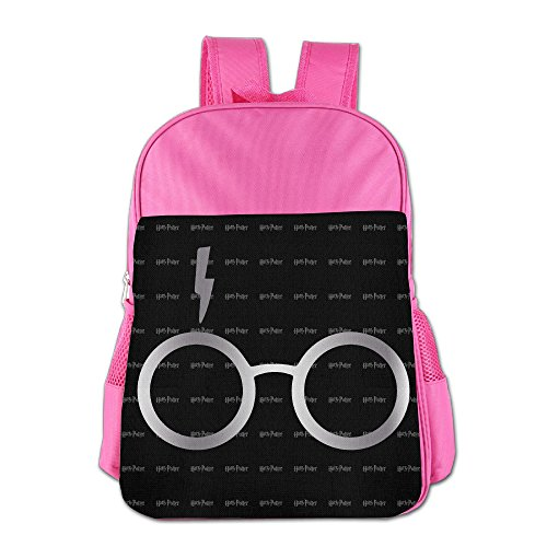 Harry Potter Glasses Platinum Style School Backpack Bag