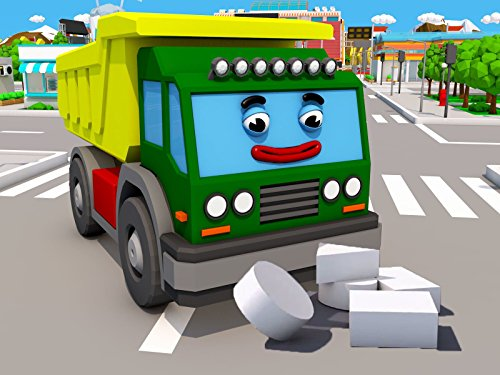Learning geometric shapes with Green Truck -
