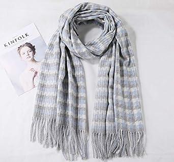 Longwu les femmes doux cachemire /écharpe en laine de grandes pashminas ch/âle et enroule chaleureuse a vol/é couverture