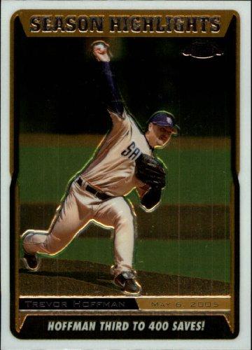 2005 Topps Chrome Update Baseball Card #220 Trevor Hoffman Near Mint/Mint