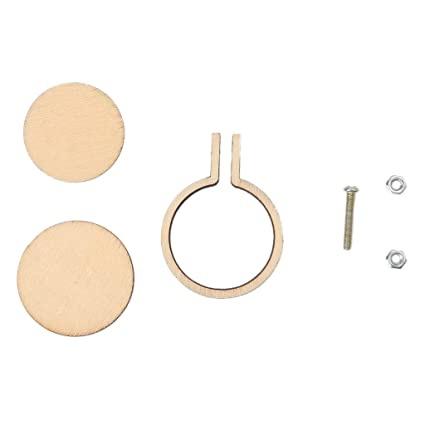 Amazon.com: puhoon Mini Wooden Embroidery Hoop, Wooden Frame Hand ...