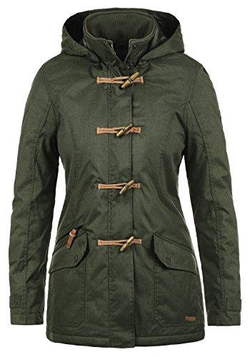 Mujer Chaqueta 3785 Con Abrigo De Cuello coat Climb Duffle Alto Ivy Invierno Brooke Desires Para IfB8FF