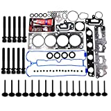 #9: Motorhot Cylinder Head Gasket Set With Head Bolts Fit for Daewoo Isuzu Suzuki 2.2l l4 16Valve Eng. Code X22SE A20DMS
