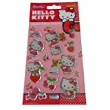 Panini Hello Kitty Crystal Glitter Sticker Sheet