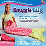 Snuggie Tails for Kids, Pink Mermaid - The Funnest and Comfiest Sleeping Bag Ever - Bring Imaginations to Life - Fun Anywhere - Perfect for Winter (Renewed)