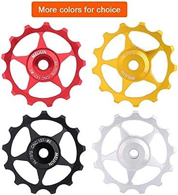 2pcs 11T Aluminum Alloy Bike Jockey Wheel Rear Derailleur Pulleys Bicycle Pa/_US
