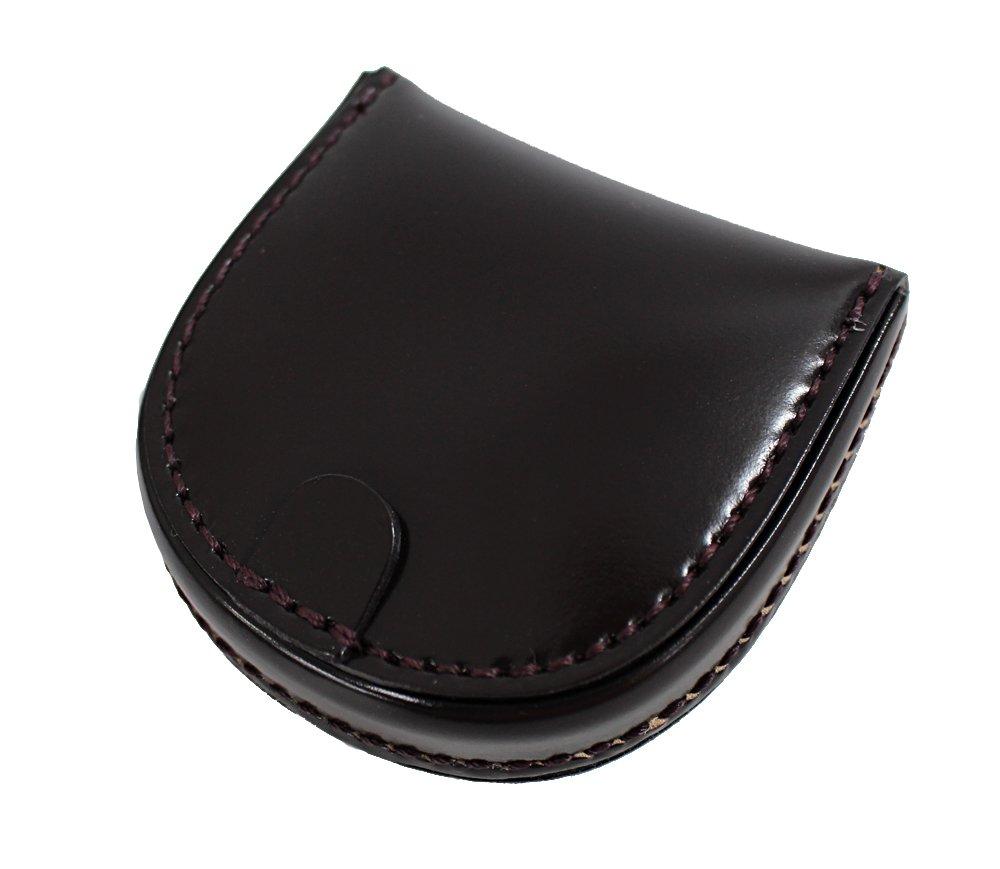 コードバン CORDOVAN コインケース 馬蹄型 小銭入 馬尻革 日本製(ブラック チョコ ブラウン ネイビー) B01LZ04JBL チョコ チョコ