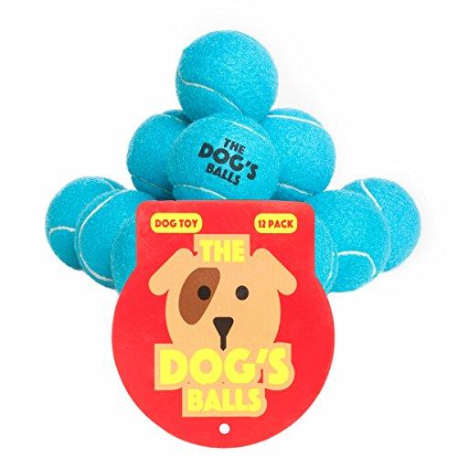 Der Hund Kugeln, 12 Premium Blau Hunde Tennisbälle