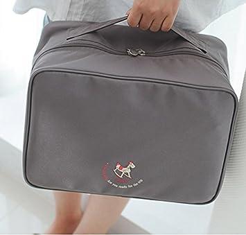 1293fbfaeed6 Amazon.com: MJ house-Korean fashion makeup bag wash bag travel ...