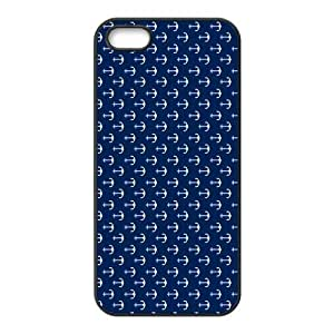 Anchor Art iPhone 5s Cases TPU Rubber Hard Soft Compound Protective Cover Case for iPhone 5 5s