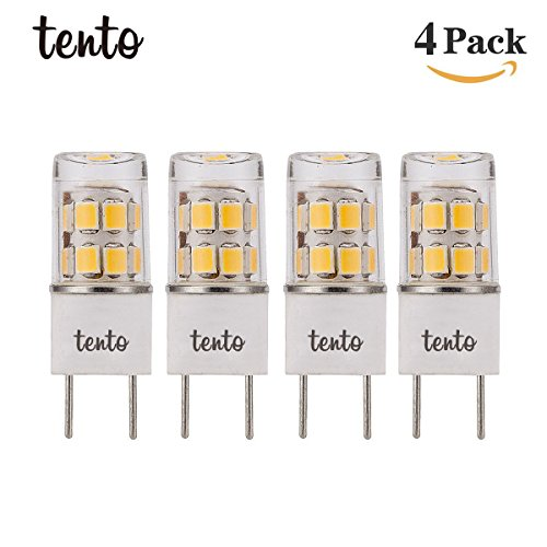 120v Replacement (T4 G8 LED Bulb 4000k Natural Daylight 120v 20w 35w LED G8 Replacement 2.5w G8 LED COB Light Bulbs Pin Base LED Halogen Xenon Replacement Light Bulb Puck Light Bulb Under-Counter Lights Microwave Safe)
