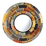 Southern Enterprises Baroda Round Decorative Mirror, Metallic