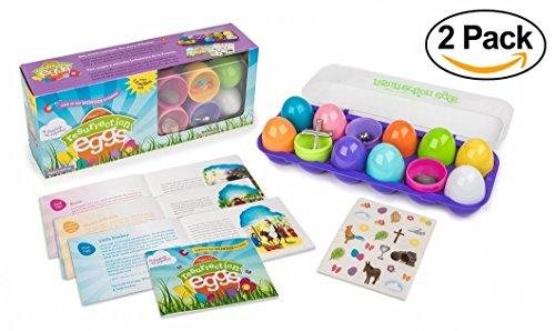 Resurrection Eggs 12 Piece Religious Figurines product image
