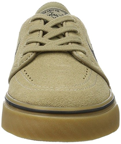 Nike Zoom Stefan Janoski, Zapatillas de Skateboarding para Hombre, Verde (Khaki / Black-Gum Light Brown), 36 EU
