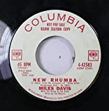 MILES DAVIES 45 RPM NEW RHUMBA / SLOW SAMBA (AOS PES DA CRUZ)