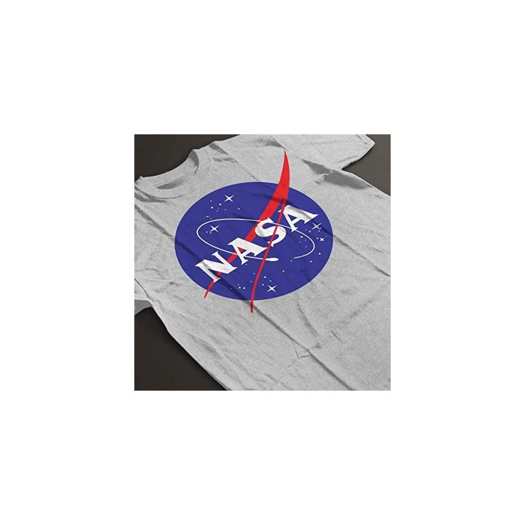 Logo nasa camiseta