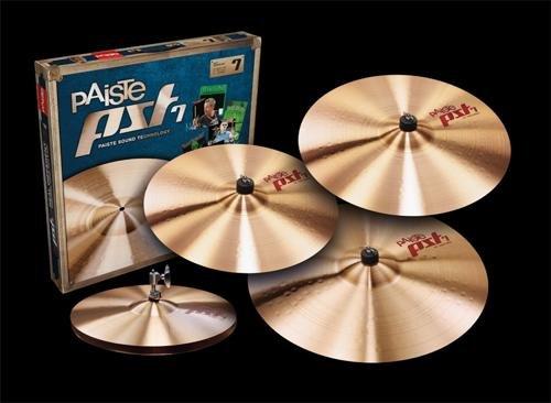 Universal Cymbal Set (Paiste PST 7 Universal Cymbal Set, 14/16/20+18)