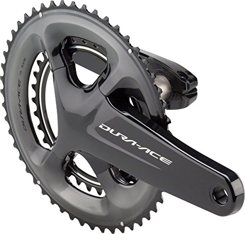 Shimano Dura-Ace FC-R9100 11-Speed Crankset Black, 172.5mm 53/39