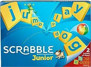 Scrabble juego de tablero de 2 a 4 jugadores mattel for Precio juego scrabble mesa